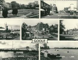 Goole Old Postcard