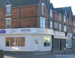 Shop at the corner of Pasture Road and Fourth Ave, Goole